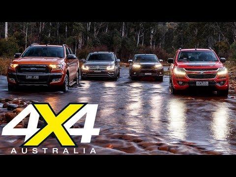 Four-way ute comparison review | 4X4 Australia