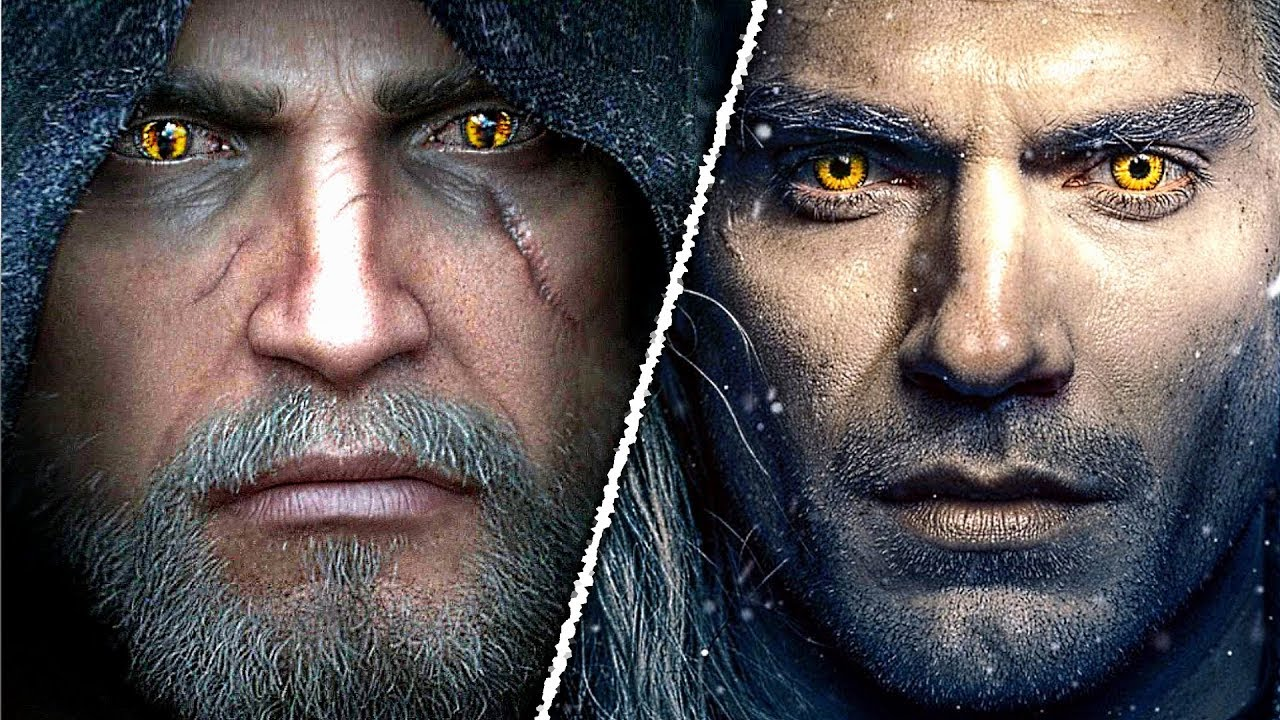 Witcher Show vs. Witcher Games: Which Depiction of Geralt, Ciri and Yennefer is closer to the Books?