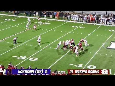 9/27/19 - Northside High School vs Warner Robins High School (Highlights)