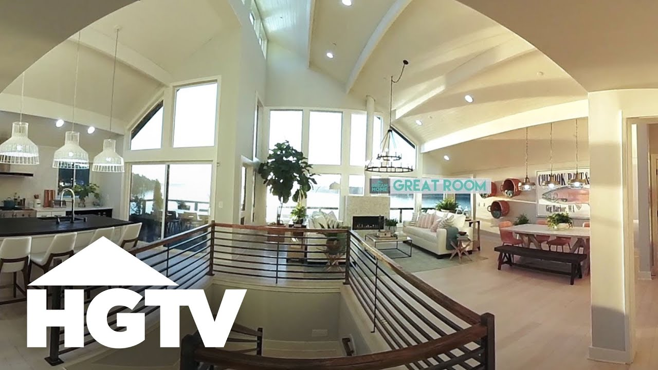 HGTV Dream Home 2018 - 360 Video Tour