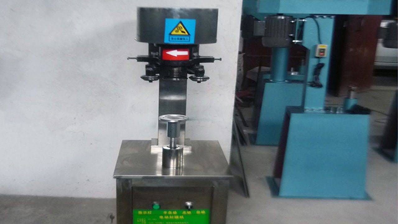 Electric Cans Sealing Machine Easy Open Can Sealer