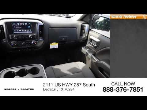 2018 Chevrolet Silverado 1500 Decatur TX 183652