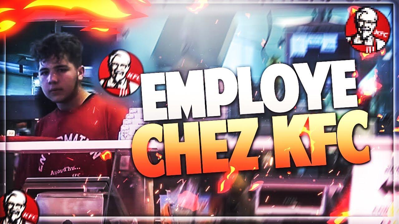 SE FAIRE PASSER POUR UN EMPLOYER CHEZ KFC ET CUSINER