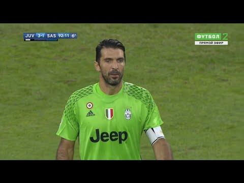 Gianluigi Buffon vs Sassuolo (Home) 2016-17 HD 720p