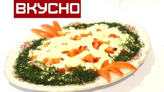 Ну ОЧЕНЬ Легкий САЛАТ  с Творогом / Сельдереем / Помидорами / Salad with cottage cheese and celery