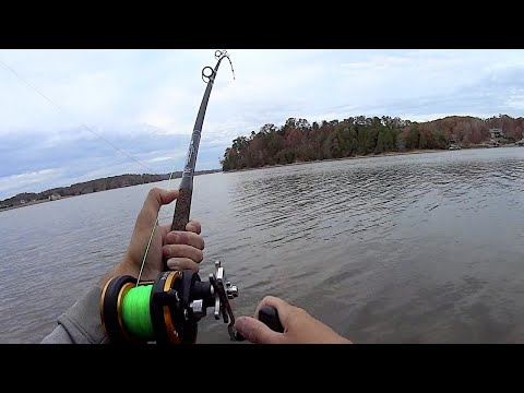Breaking In My New Bank Fishing Catfish Rods