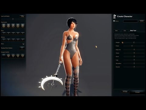 Vindictus Gameplay Start Character Creation 2015 HD