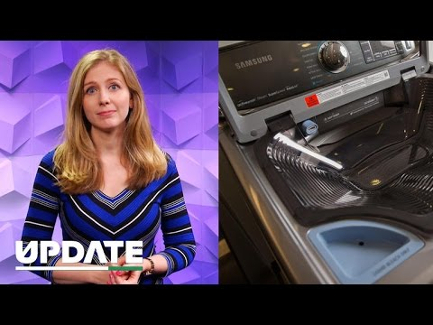 Exploding washing machines are Samsung's latest woe (CNET Update)