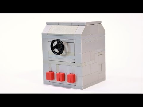 How to Build a working Lego Button Safe