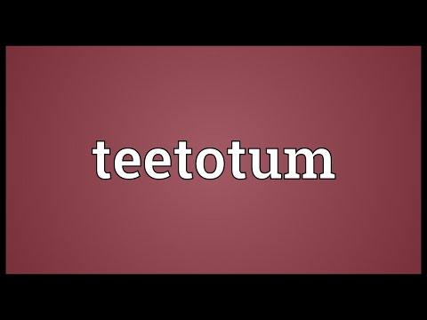 Header of teetotum