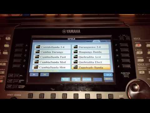 Yamaha psr s650 expansion packs