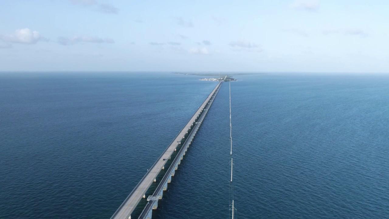 The florida keys bridges fishing 4k uhd youtube for Florida keys bridge fishing