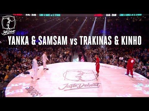 Popping battle : Yanka & Samsam vs Trakinas & Kinho
