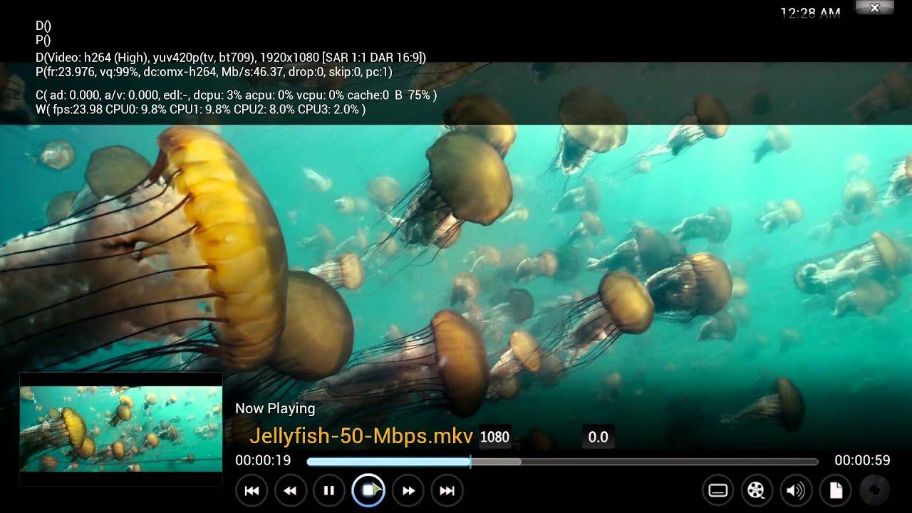 NVIDIA Jetson TK1 - Kodi 14 0 Helix - 120Mbps / 1080p@60 / 4k@30