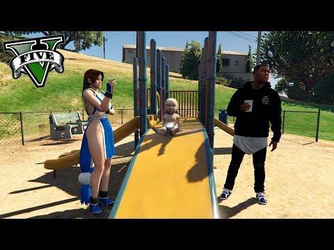 GTA V VIDA REAL MODS #14 - TENGO UNA FAMILIA *NORMAL*  - ElChurches