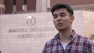 Anadolu Universiteti İşletme bölüm tələbələri Çinarə  və Kamranın Universitet haqqında təəssüratları