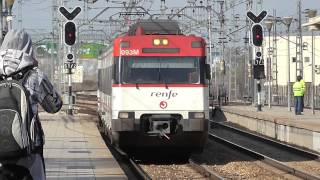 Renfe Cercanias - 446.047R + 446 llegando a San Fernando de Henares desde O Donell