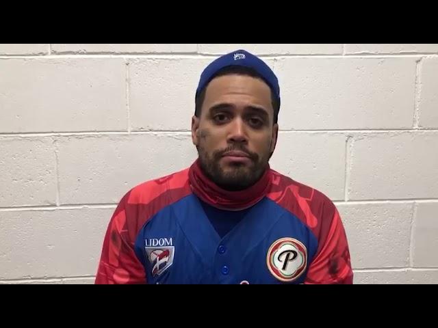 Entrevista al receptor Francisco Peña luego de la victoria ante Panamá
