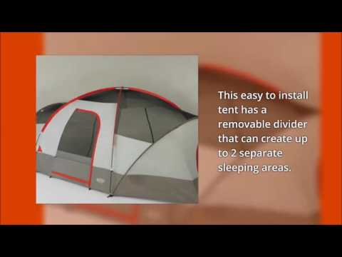 Wenzel Great Basin 10 Person Tent & Wenzel Great Basin 10 Person Tent - YouTube