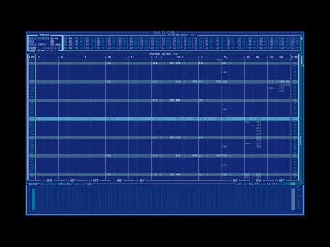 Senselessly High Resolution Adlib Tracker II Composition Session (1440x960 120fps)