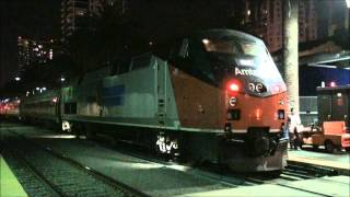 Amtrak #156 (Phase I Anniversary) Arriving in San Diego w/ NPCU on Surfliner 790