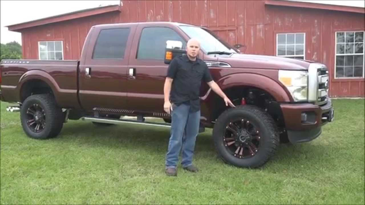 Ford f250 lift kit custom truck accessories youtube
