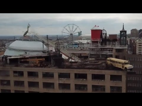 aa59a4fc6697 The Coolest Museum EVER!! - City Museum - Rooftop Ferris Wheel ...