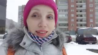 VLOG : декабрь 2017 - лыжи в школу, примерка секонд, выбрала платье на корпоратив !!