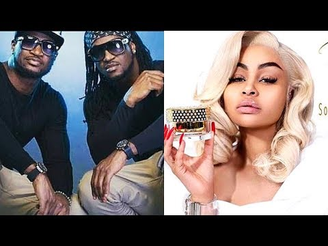Psquare never getting back together   Blac Chyna in Nigeria to launch bleaching cream