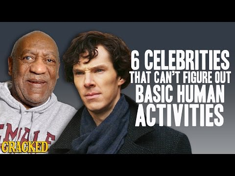 6 Celebrities That Cant Figure Out Basic Human Activities - The Spit Take