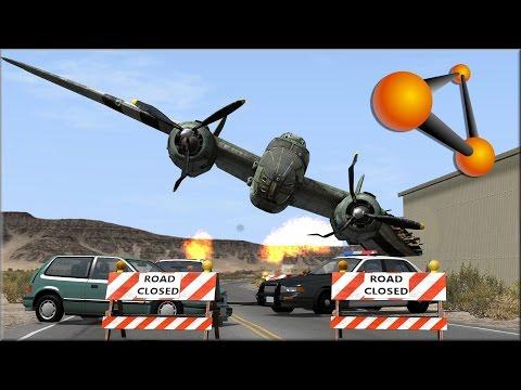 BeamNG Drive Plane Crashes #1