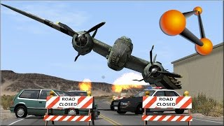 BeamNG Drive Plane Crashes #1