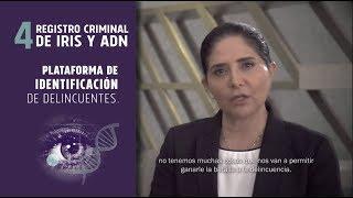 Registro criminal de Iris y ADN - Alejandra Barrales