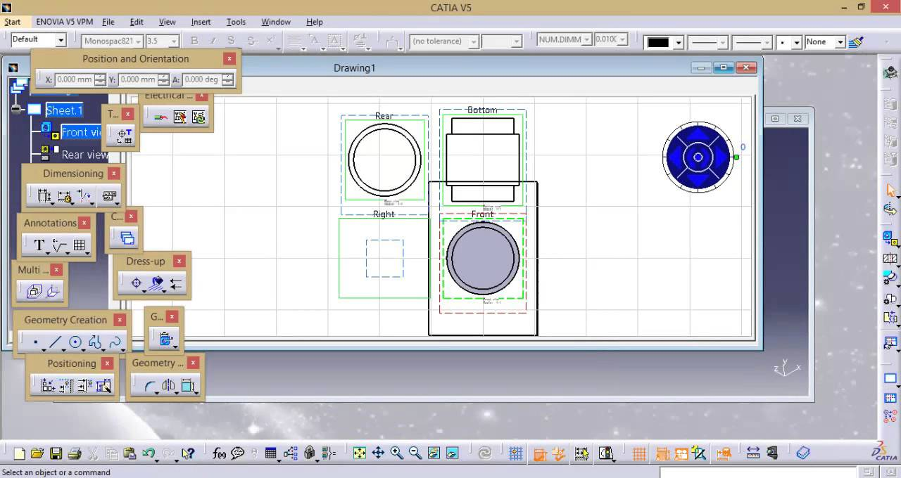 CATIA basic free online training | assembly design | drafting | how ...