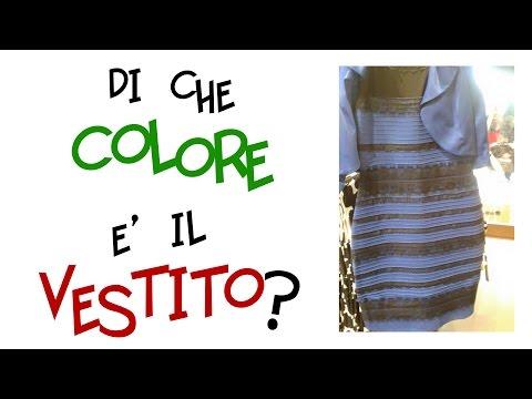 Il Vero Colore Del Vestito Spiegazione Scientifica Nero