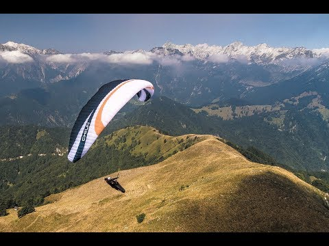 The art of paragliding in Slovenia