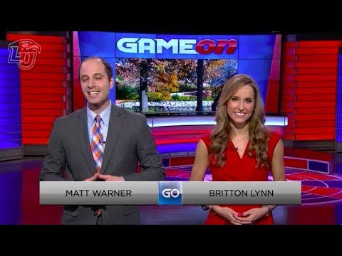 Liberty Flames Sports Network - Game On - Full Sportscast - 2016