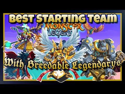 Monster Legends - Best Breedable Legendarys - Make Early Game Easy!