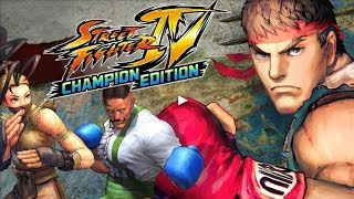 Street Fighter IV Champion Edition Android GamePlay