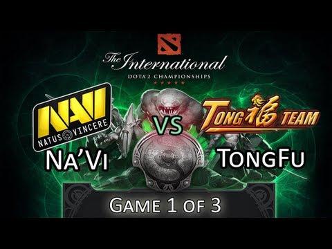 Na'Vi Vs TongFu - Game 1/3 - DoTA 2 The International 2013 Tournament Highlights