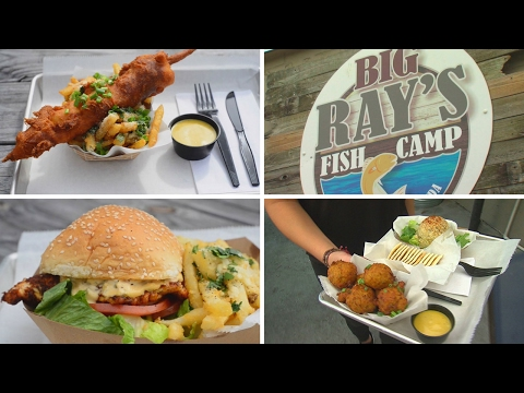Find Fresh Florida Seafood at Big Ray's Fish Camp in Tampa