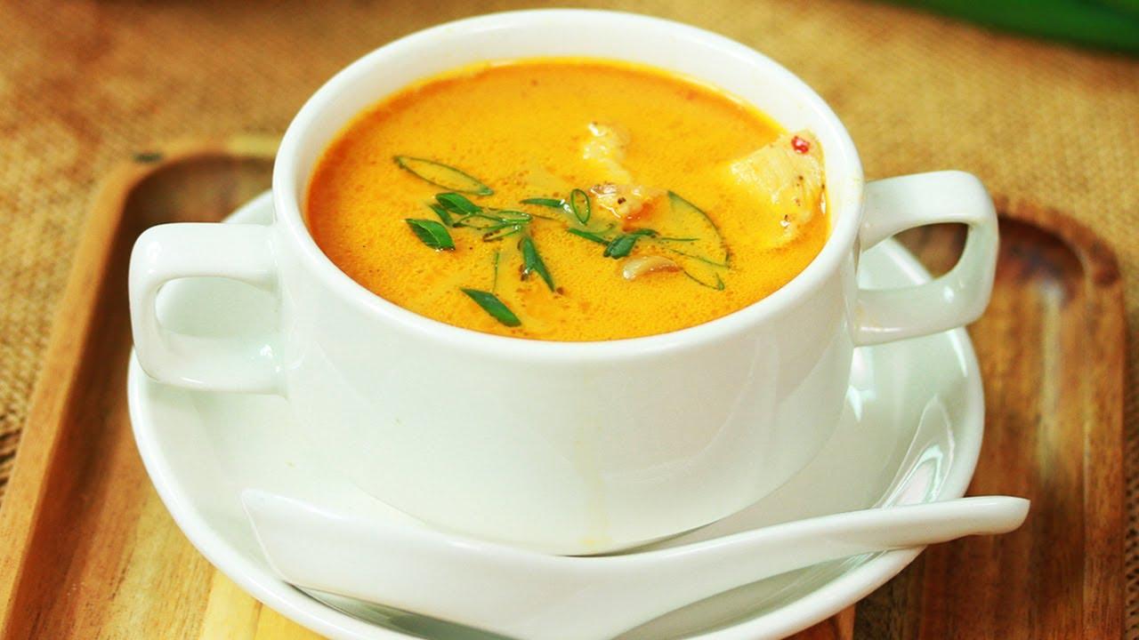Thai Soup Recipe By SooperChef - YouTube