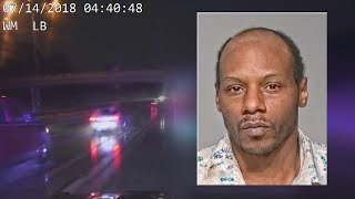 Man after 12-mile police chase: 'I know my rights'