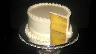 French Vanilla Sour Cream Cake Recipe By The Winbeckler's