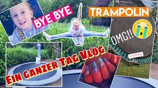 OMG Trampolin Abschied😳 Gelnägel mit 10 ? Mavie 's  Family Vlog