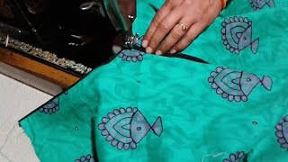 Repeat youtube video Sherwani kameez neck cutting and stitching method