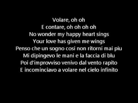 Dean martin - Volare Lyrics