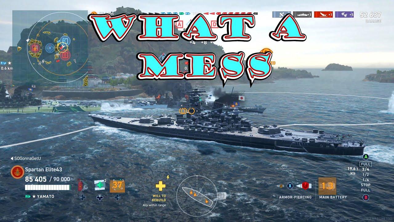 Potato Salad! (World of Warships Legends Xbox One X) 4k