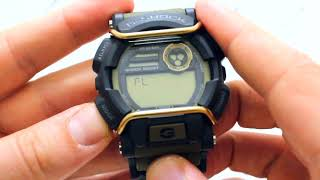 Годинник Casio G-Shock GD-400-9DR - Інструкція, як налаштувати від PresidentWatches.Ru