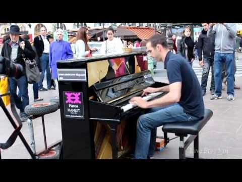 Уличные музыканты Фортепиано Париж |  Busker Piano Paris